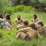 jesus and disciples teachin